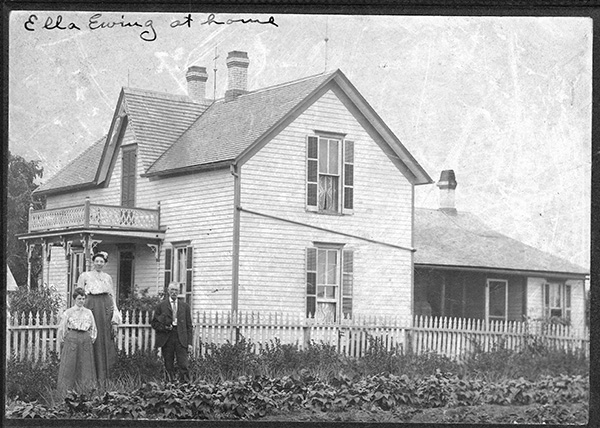 Ella Ewing's Residence
