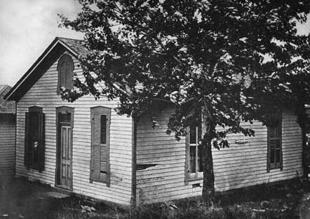 house where Jesse James was shot and killed