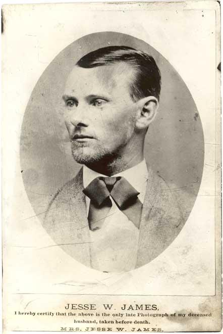 Jesse James, 1875
