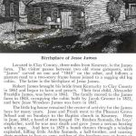 birthplace of Jesse James