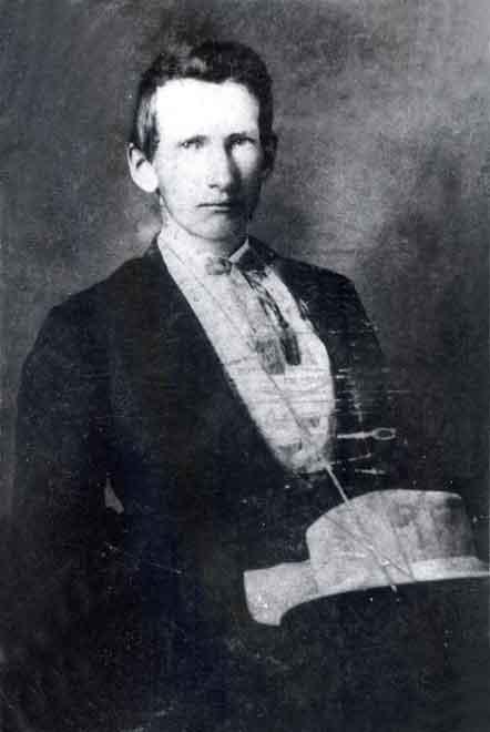 Frank James, ca. 1865.