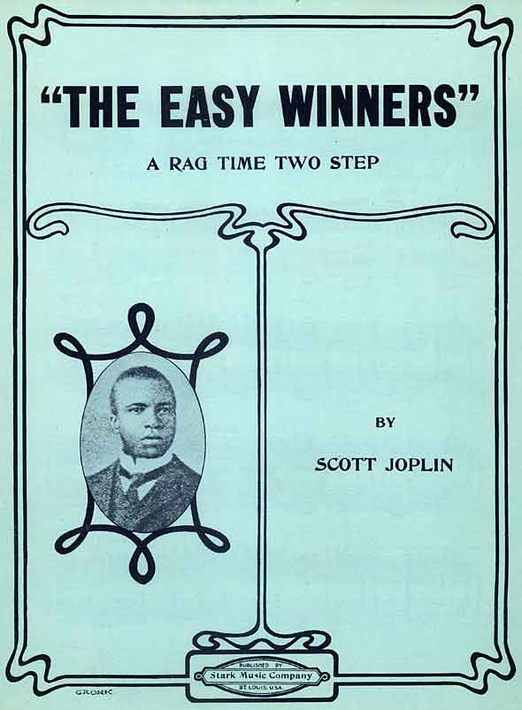 The Easy Winners sheet music cover