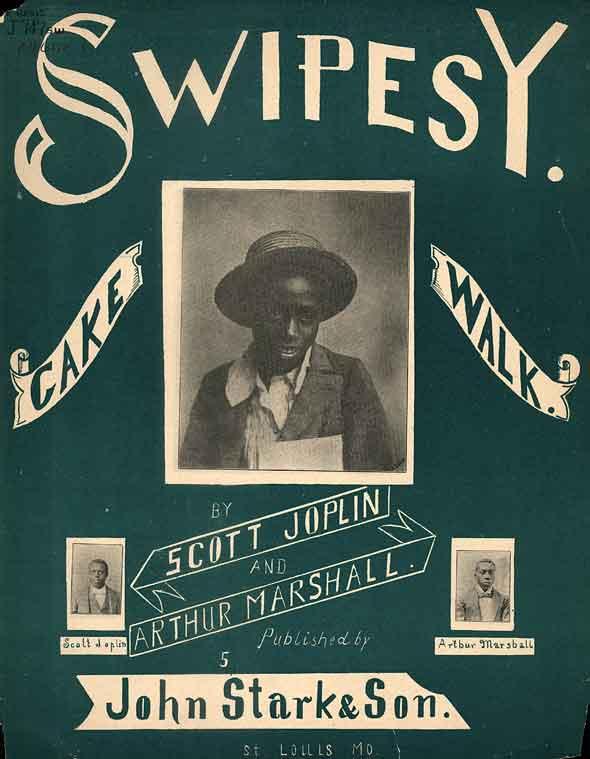Swipesy Cake Walk sheet music cover