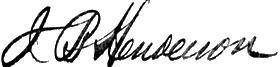Henderson signature