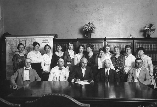Nineteenth Amendment Signing