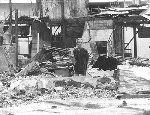 Vietnam War destruction