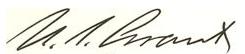 Grant signature