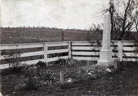 James' Grave, 1898
