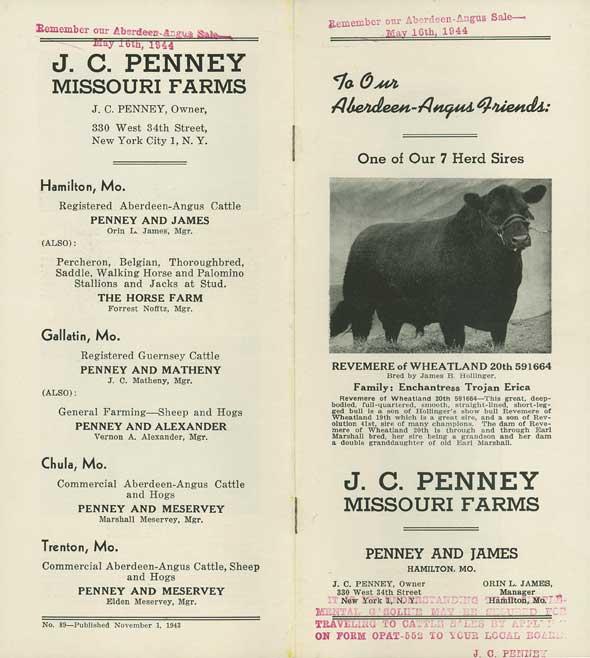 Penney Farms brochure