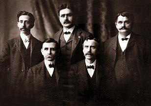 J. C. Penney with his partners