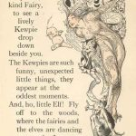 illustrated page from The Kewpie Primer
