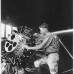 Lindbergh at work