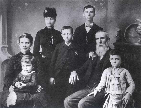 Penney family portrait