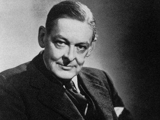 T. S. Eliot in 1954