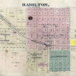 Hamilton plat map, 1876