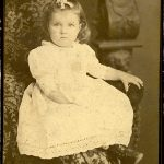 Mary Gentry Paxton as a young girl