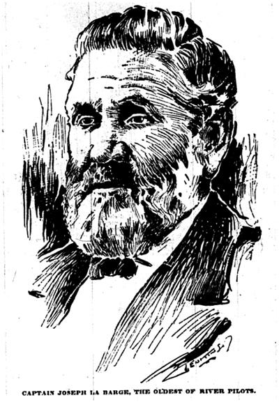 sketch of Joseph LaBarge