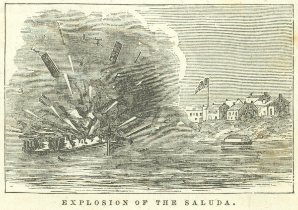 Explosion of the Saluda