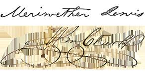 Lewis and Clark's signature