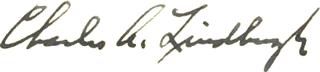 Lindbergh signature