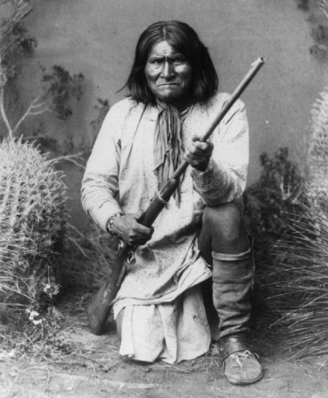 Geronimo after capture