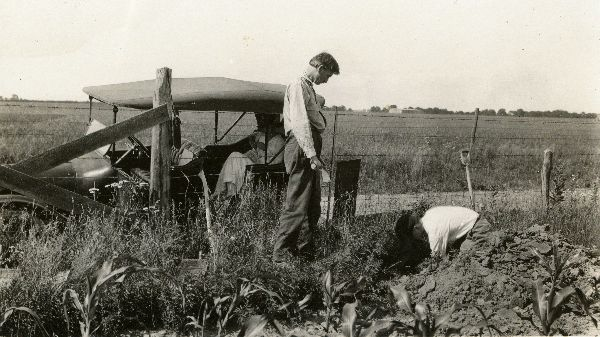 Marbut and Merrill F. Miller doing field work