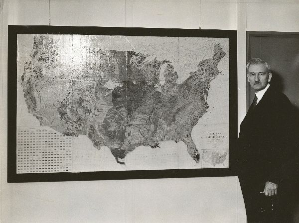 Marbut with the U.S. Soil Survey Map