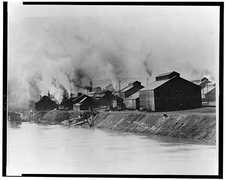 Wire mill in Donora, Pennsylvania