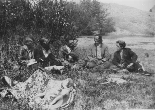 Neihardt with Lakota Sioux