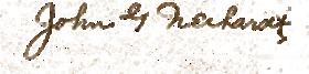 Neihardt signature
