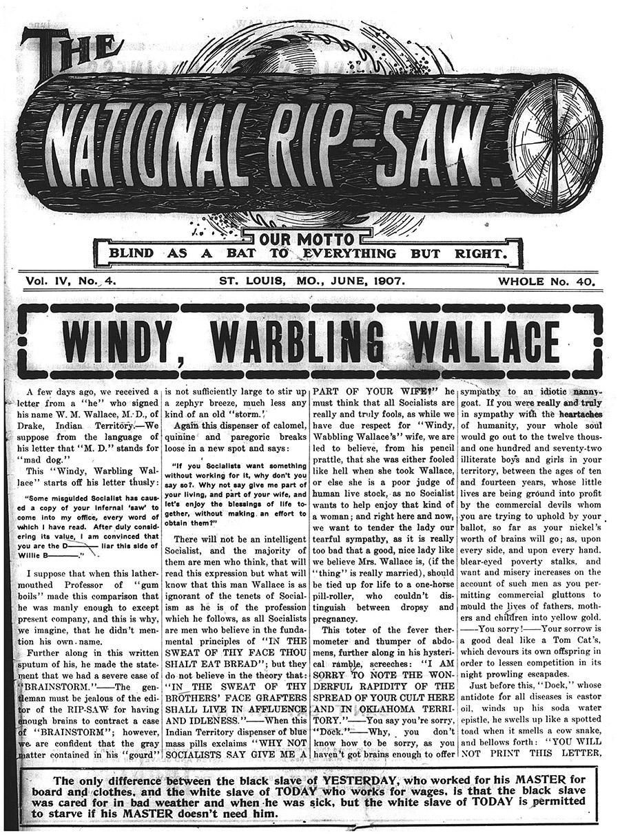 National Rip-Saw.