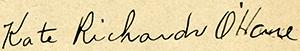 O'Hare signature