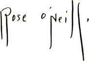 O'Neill signature