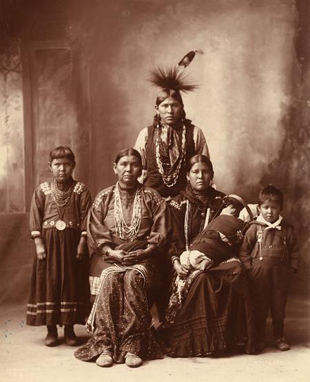 Sauk Indian Family.