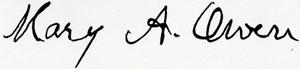 Owen signature