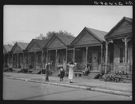 Mobile, Alabama row houses