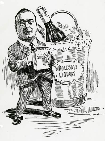 Pendergast Caricature