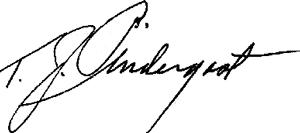 Pendergast signature
