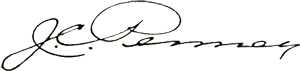 Penney signature
