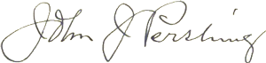 Pershing signature