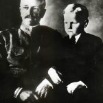 Pershing with son Warren