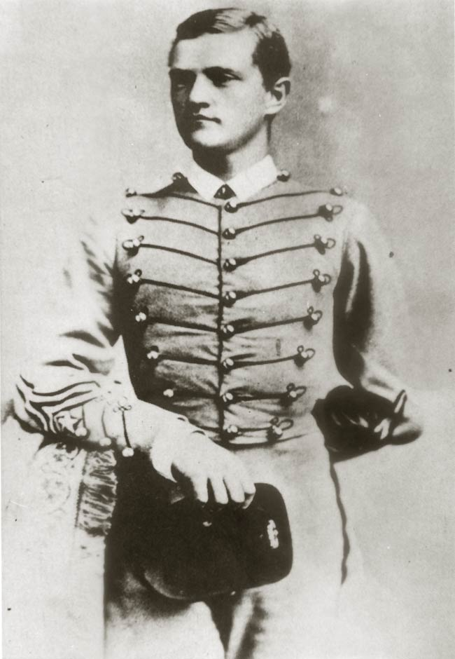 Pershing as a cadet