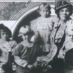 Pershing's wife and children
