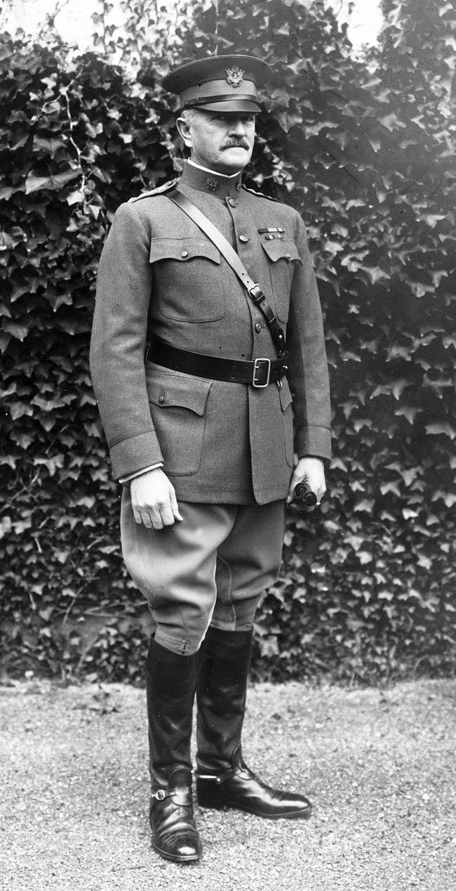 Pershing during World War I.