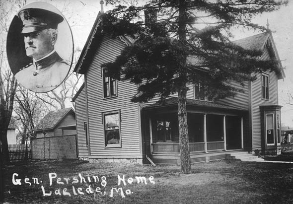 Childhood home of Pershing.