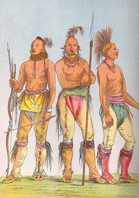 Three Osage men
