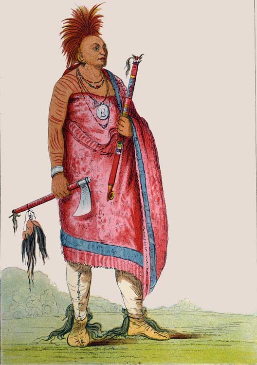 Osage Chief Tchong-Tas-Sab-Bee