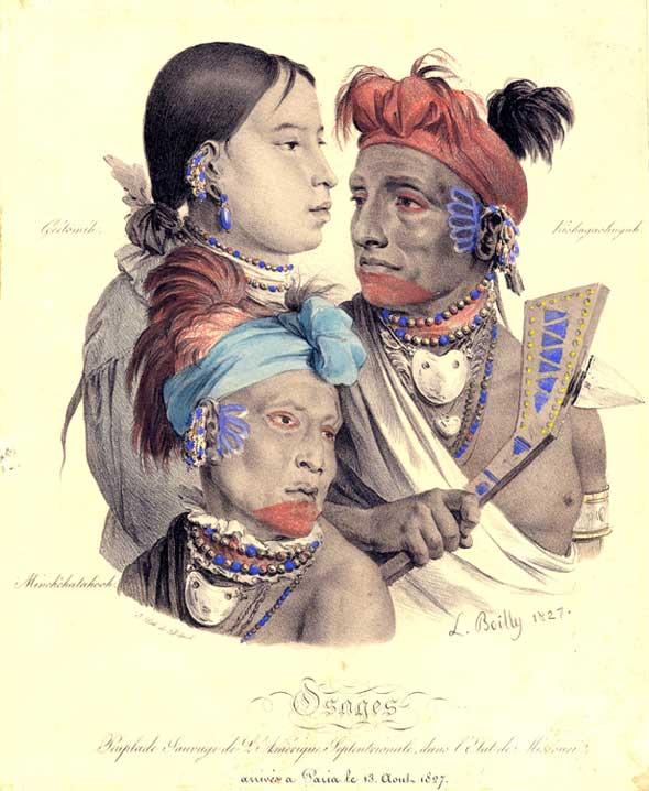 Hawk Woman, Little Chief, and Minckchatahooh