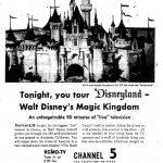 Disneyland TV show ad