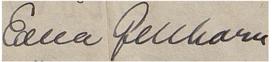 Gellhorne signature